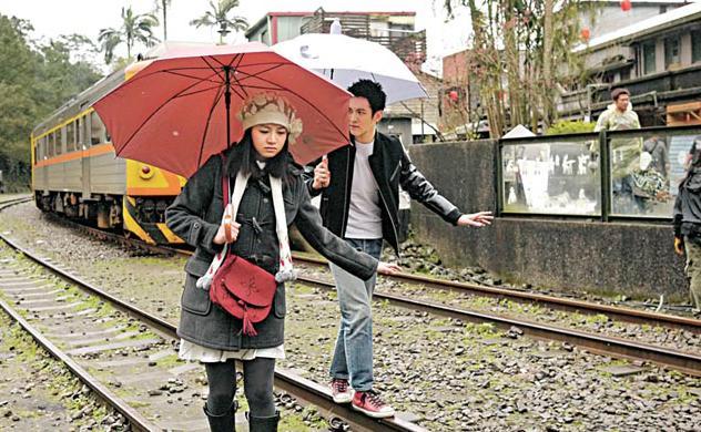 那些年.我們一起追的女孩「菁桐車站」電影場景:台鐵TRA平溪線終點站