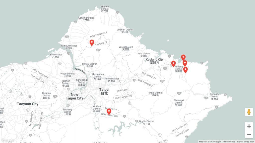 遊記-路線規劃|新北市一日遊行程.景點地圖.推薦(New Taipei City)|帶外國朋友玩