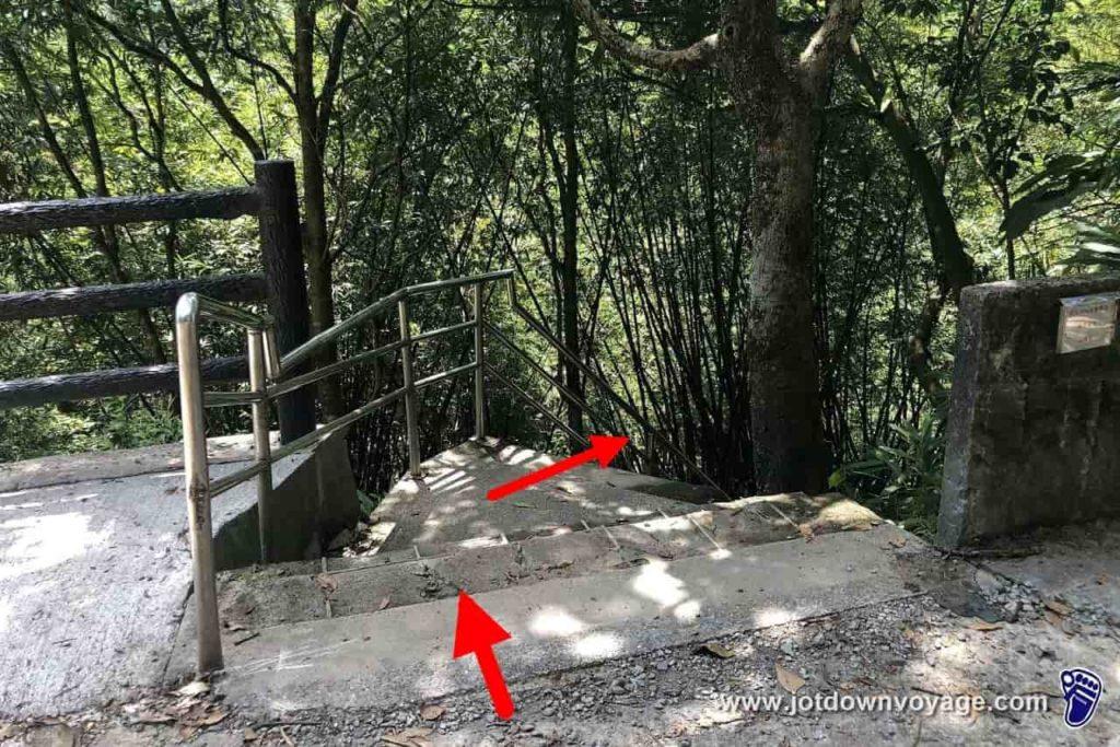 台鐵TRA嶺腳車站、嶺腳石窟大瀑布路線規劃指南:平溪秘境一日遊