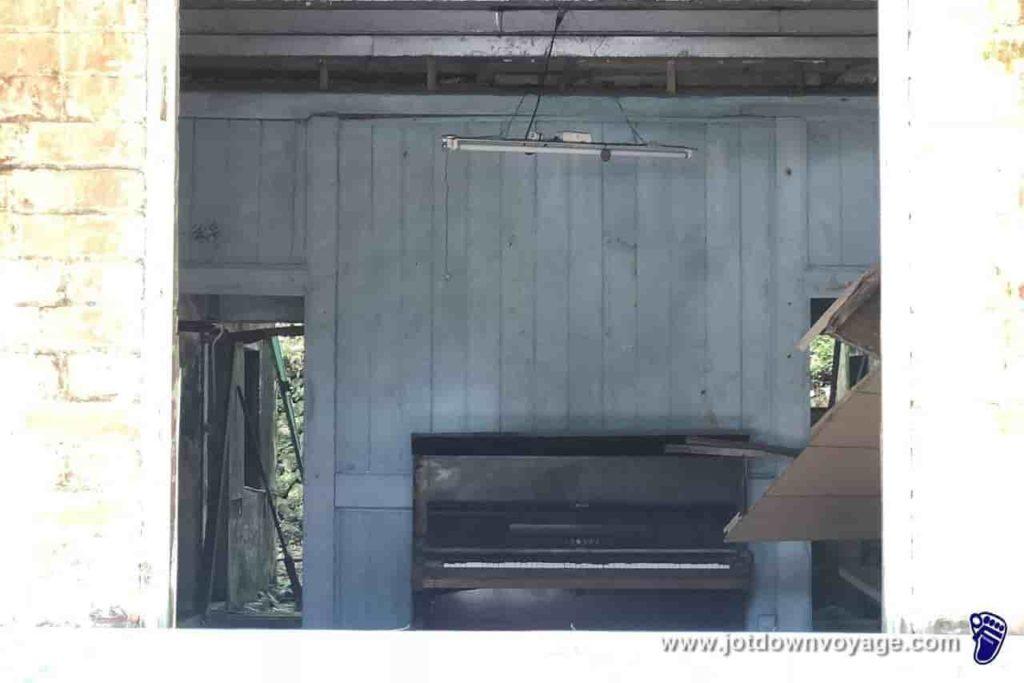 台鐵TRA平溪「嶺腳車站」:蔡家洋樓內部、紅磚樓、嶺腳寮社區