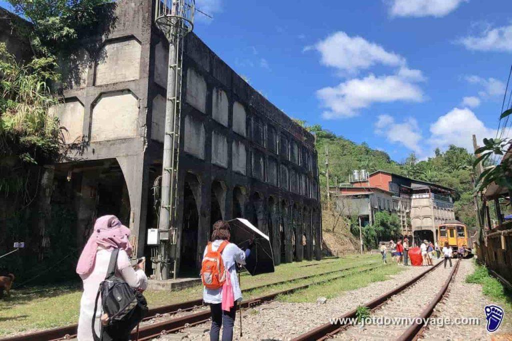 台鐵TRA「菁桐車站」平溪線終點站、降煤櫃