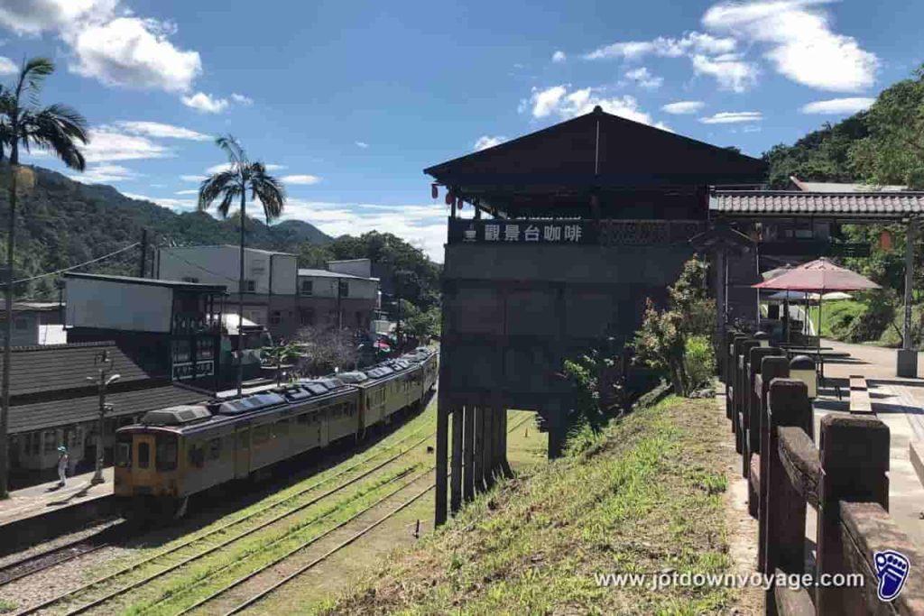 台鐵TRA「菁桐車站」平溪線終點站、選洗煤場遺址、觀景台咖啡
