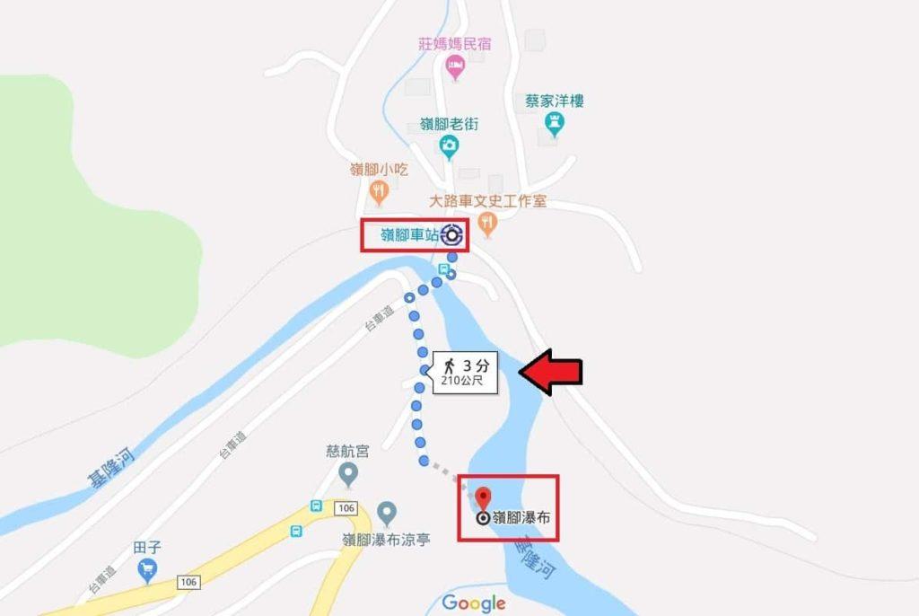 台鐵TRA嶺腳車站、嶺腳石窟大瀑布路線規劃指南