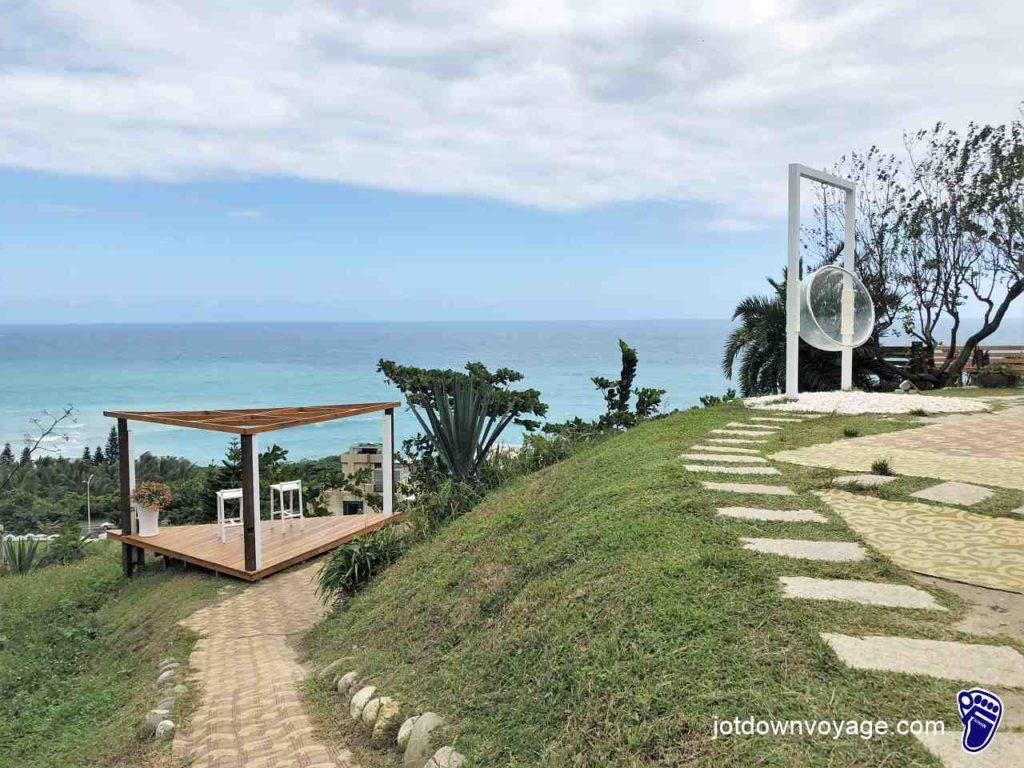 《山度空間》海景 & 雙人高腳椅觀景台-花蓮壽豐景點