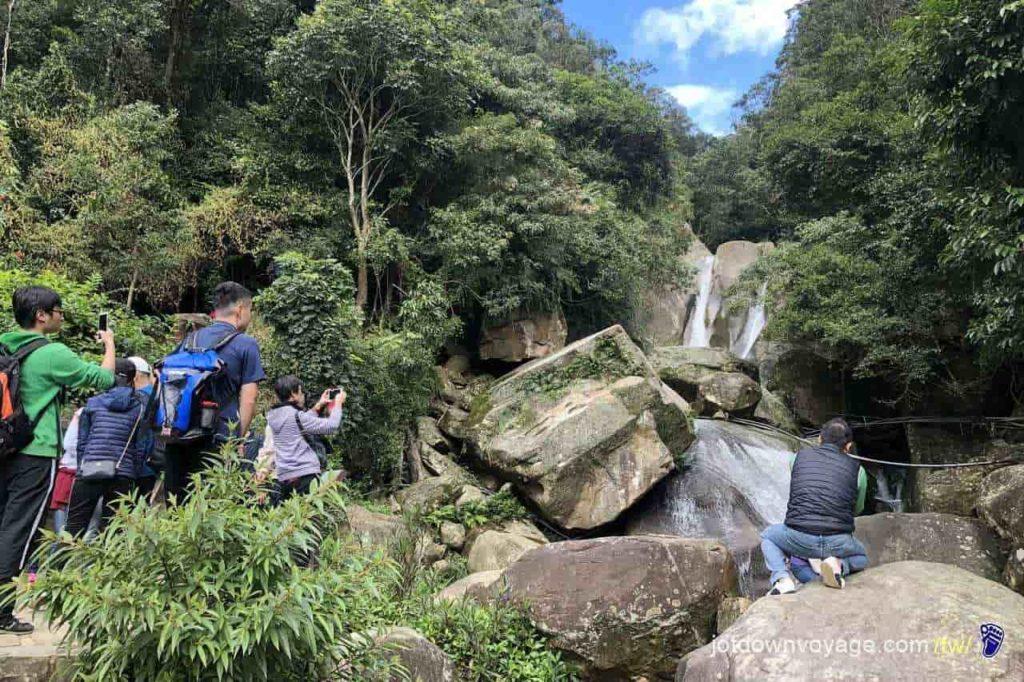 內湖登山步道:圓覺瀑布