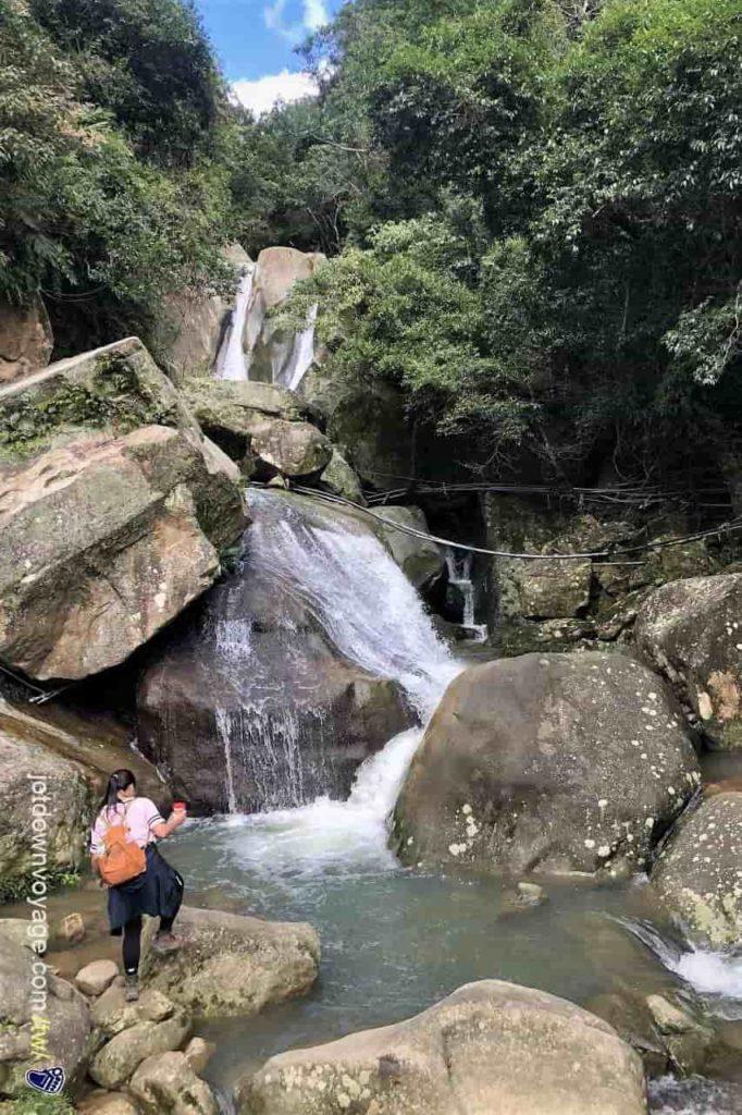台北市內湖登山步道:圓覺瀑布 Hiking in Taipei