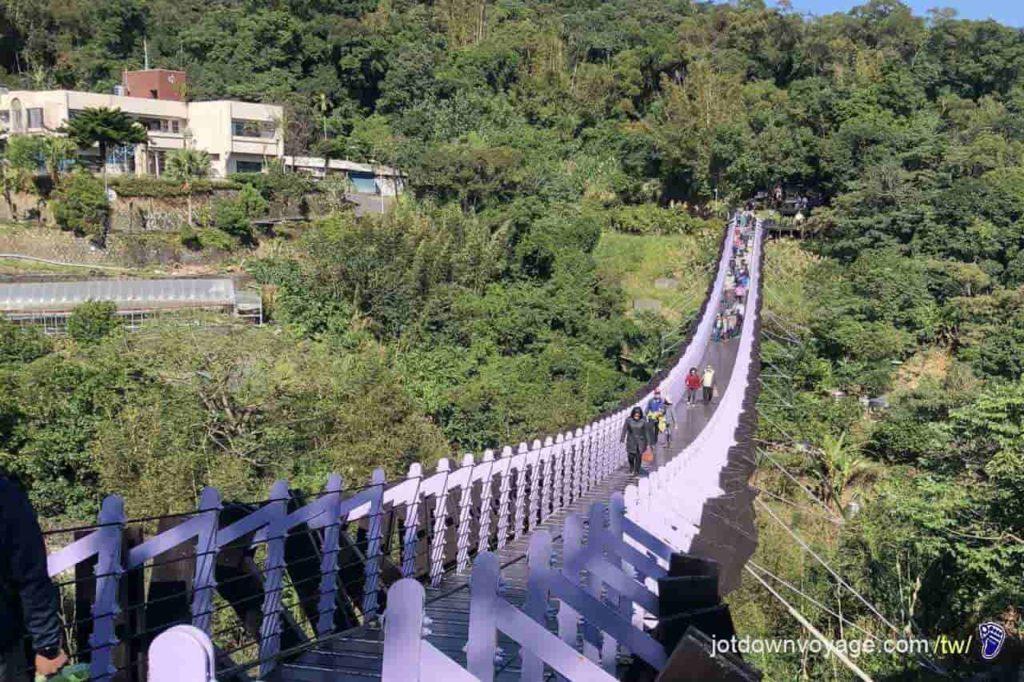台北市內湖登山步道:白石湖吊橋 Hiking in Taipei