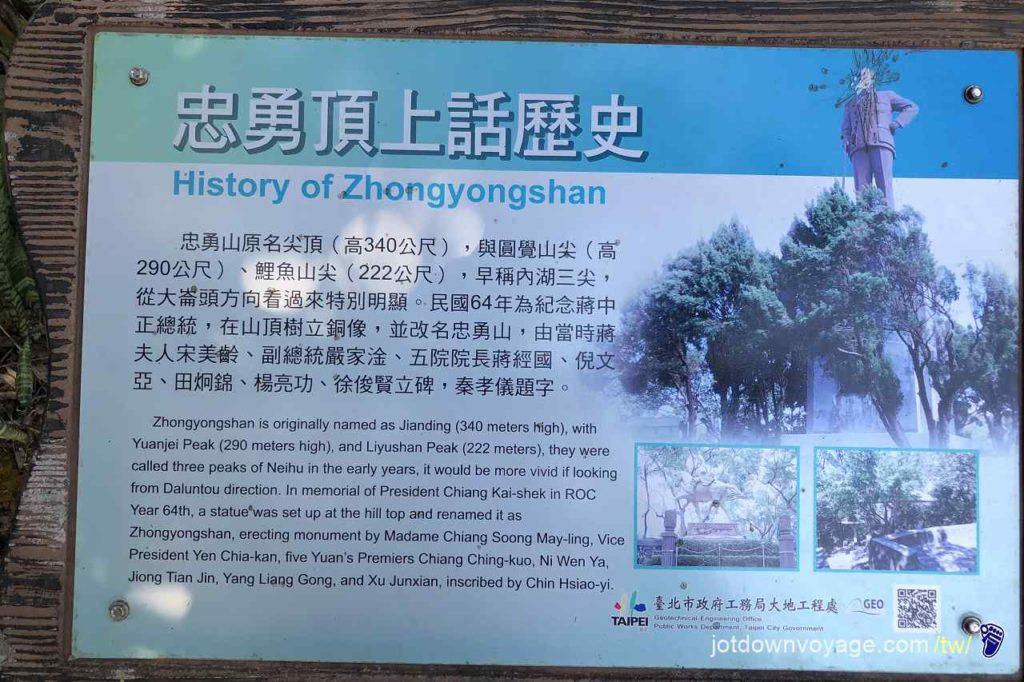 [紀錄] 台北市內湖登山步道:忠勇山 Hiking in Taipei