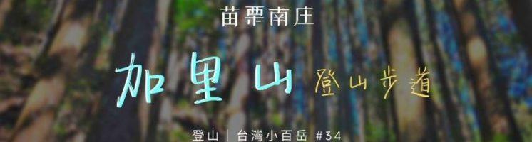 【森林】2020 苗栗南庄.加里山一日登山步道 & 路線筆記(鹿場登山口單攻)
