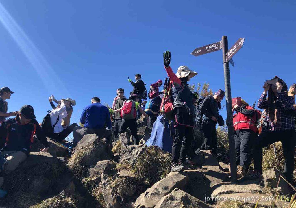 加里山一等三角點|單攻紀錄|登山季節