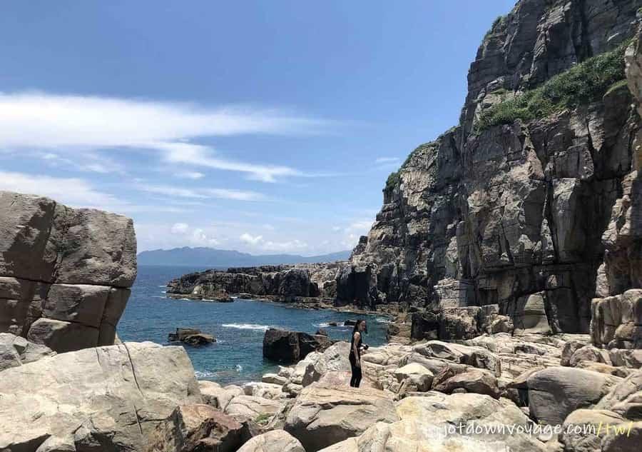 台灣的天然攀岩場介紹