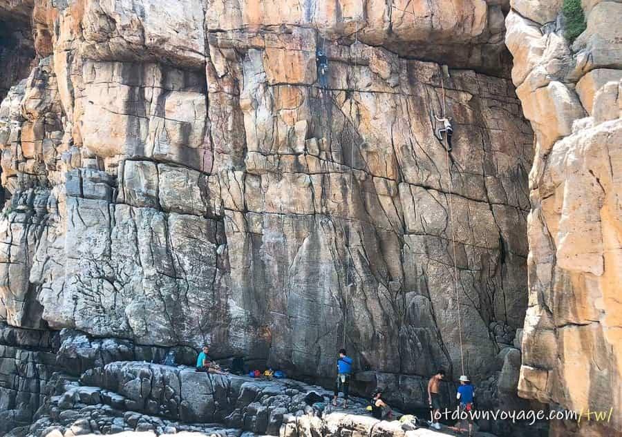 台灣的天然攀岩場介紹:龍洞