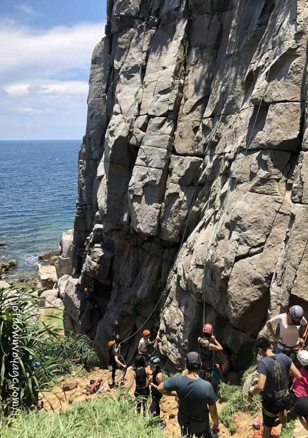 龍洞岬角岩場基本+經典路線|戶外攀岩新手必知5件事