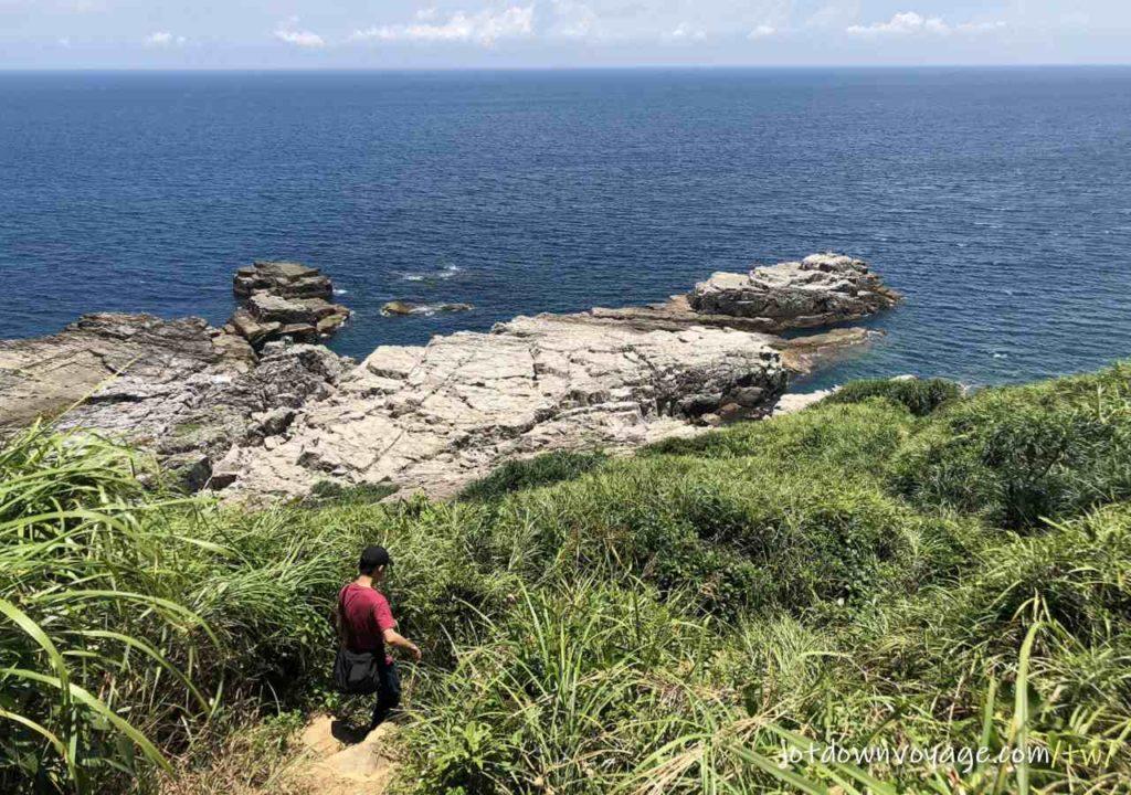 龍洞岬角岩場入口之一|戶外攀岩新手必知5件事
