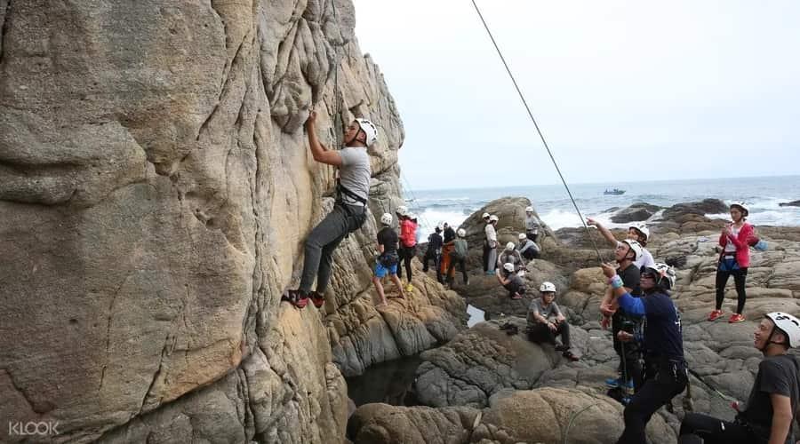 台灣的天然攀岩場介紹:體驗課程&教練推薦