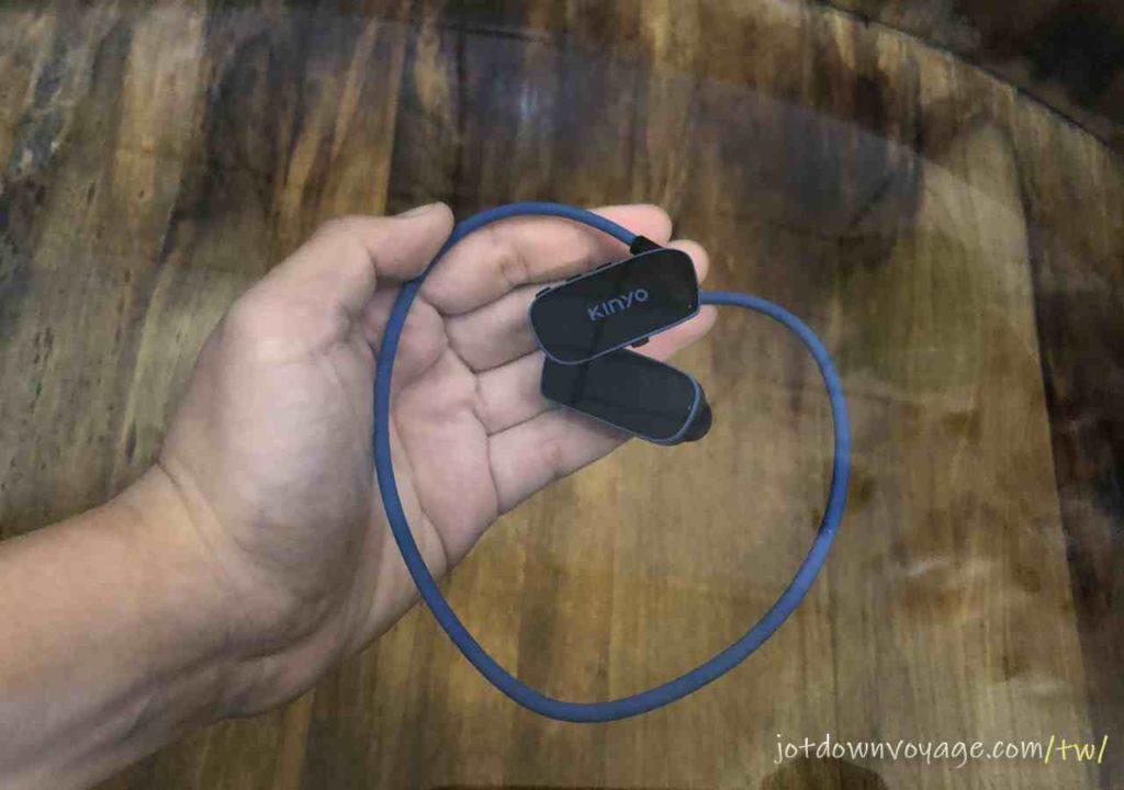 防水功能 使用評價|KINYO MP3防水運動型藍牙耳機 (BTE-3970)