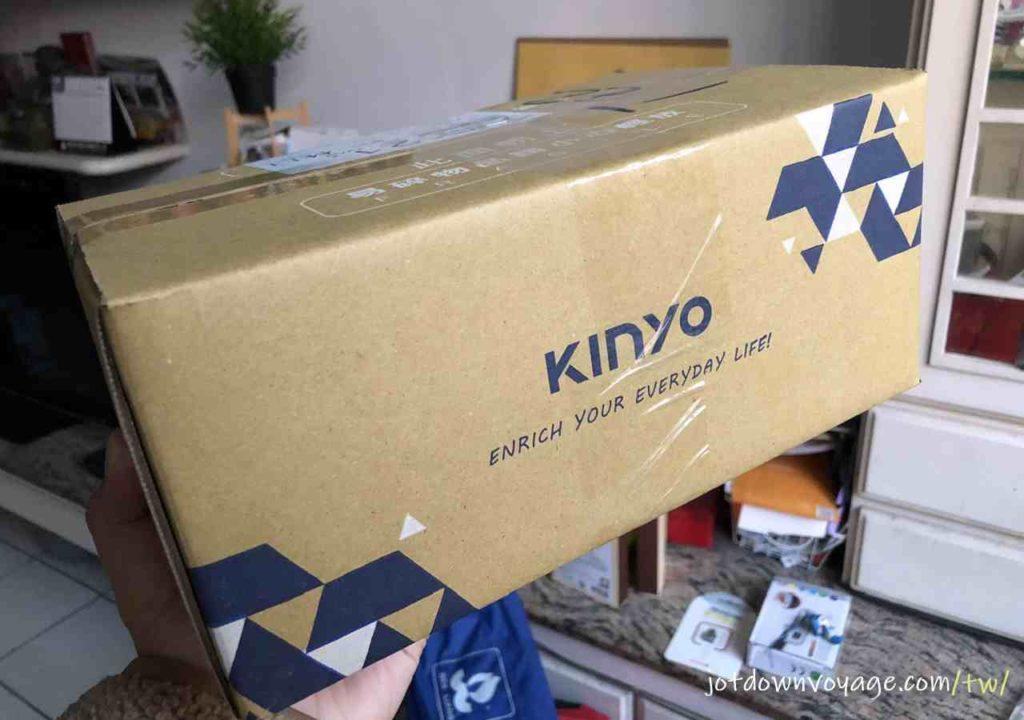 開箱、外包裝 |KINYO MP3防水運動型藍牙耳機 (BTE-3970)