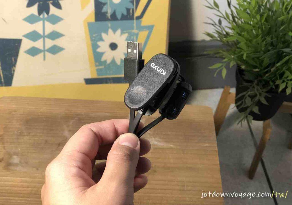 配件開箱、磁吸充電 |KINYO MP3防水運動型藍牙耳機 (BTE-3970)