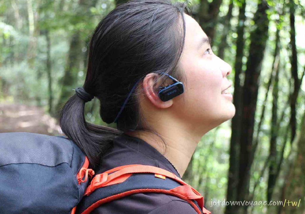 登山戶外開箱實測 |KINYO MP3防水運動型藍牙耳機 (BTE-3970)