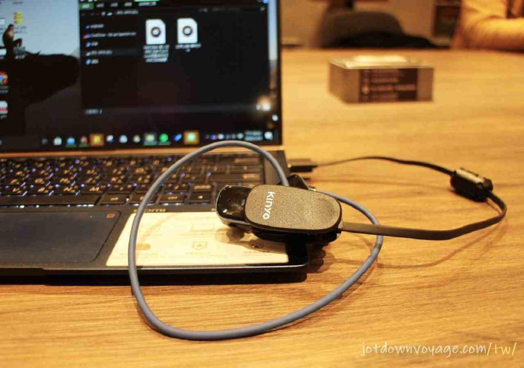 磁吸充電 使用評價|KINYO MP3防水運動型藍牙耳機 (BTE-3970)