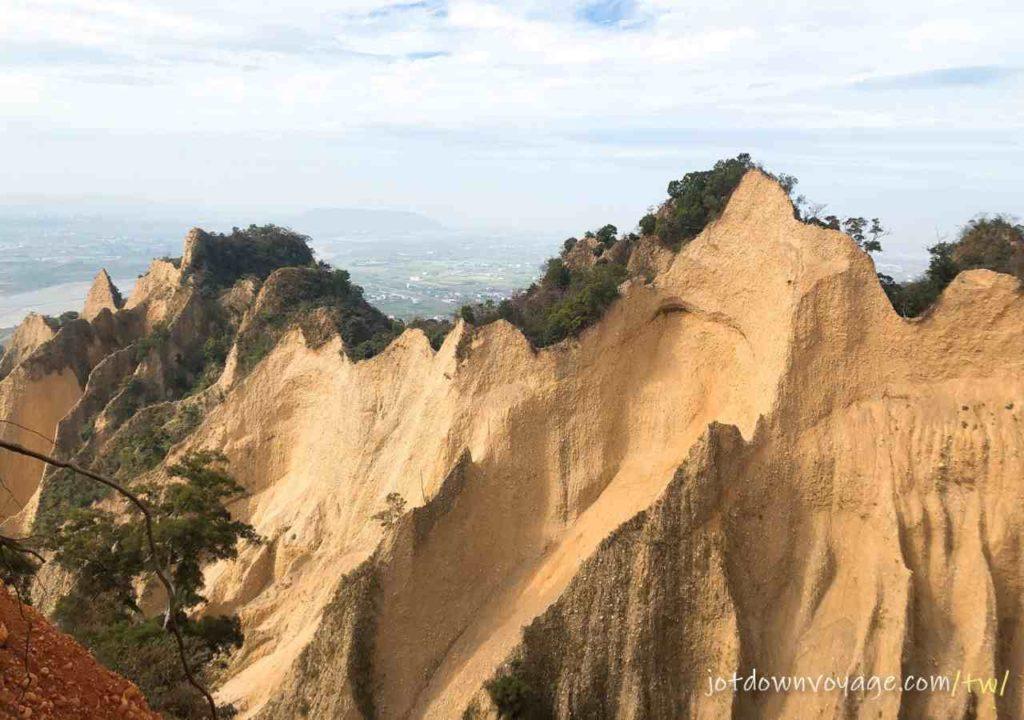 火炎山小峽谷觀景台