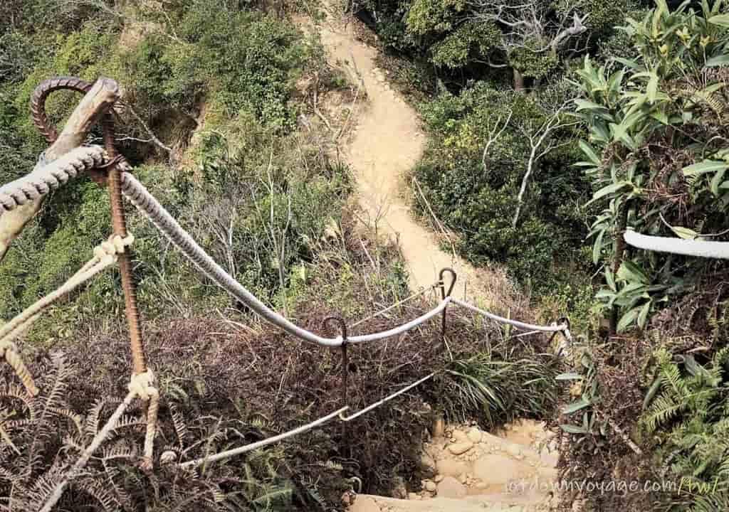 火炎山登山步道 紀錄與路線地圖Huoyanshan Hiking Guide