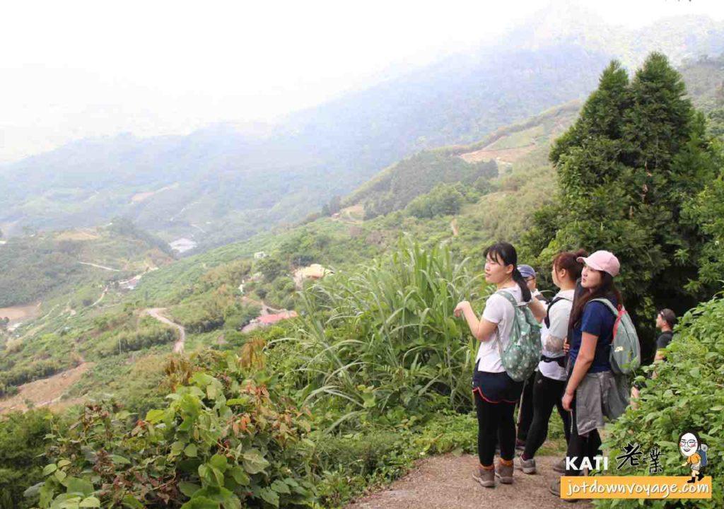 馬那邦山珠湖登山口登山步道