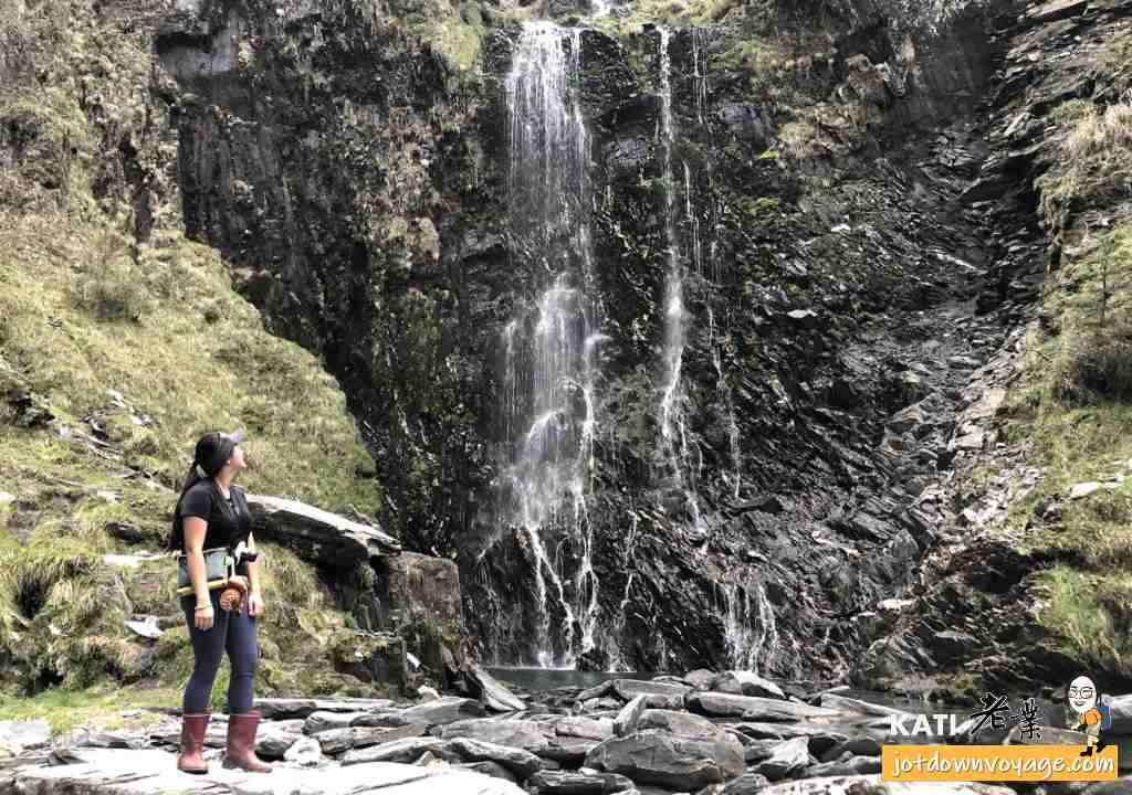 能高越嶺西段 能高三疊瀑布底