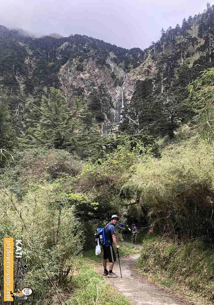 能高越嶺西段 能高三疊瀑布