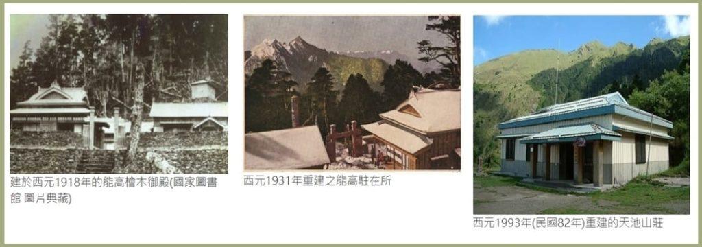 天池山莊歷史