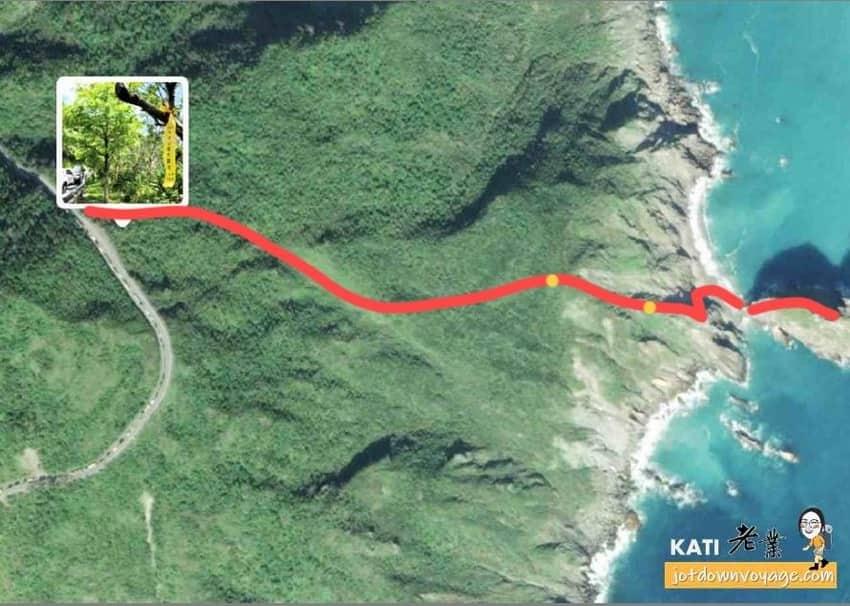 烏岩角新登山口路線