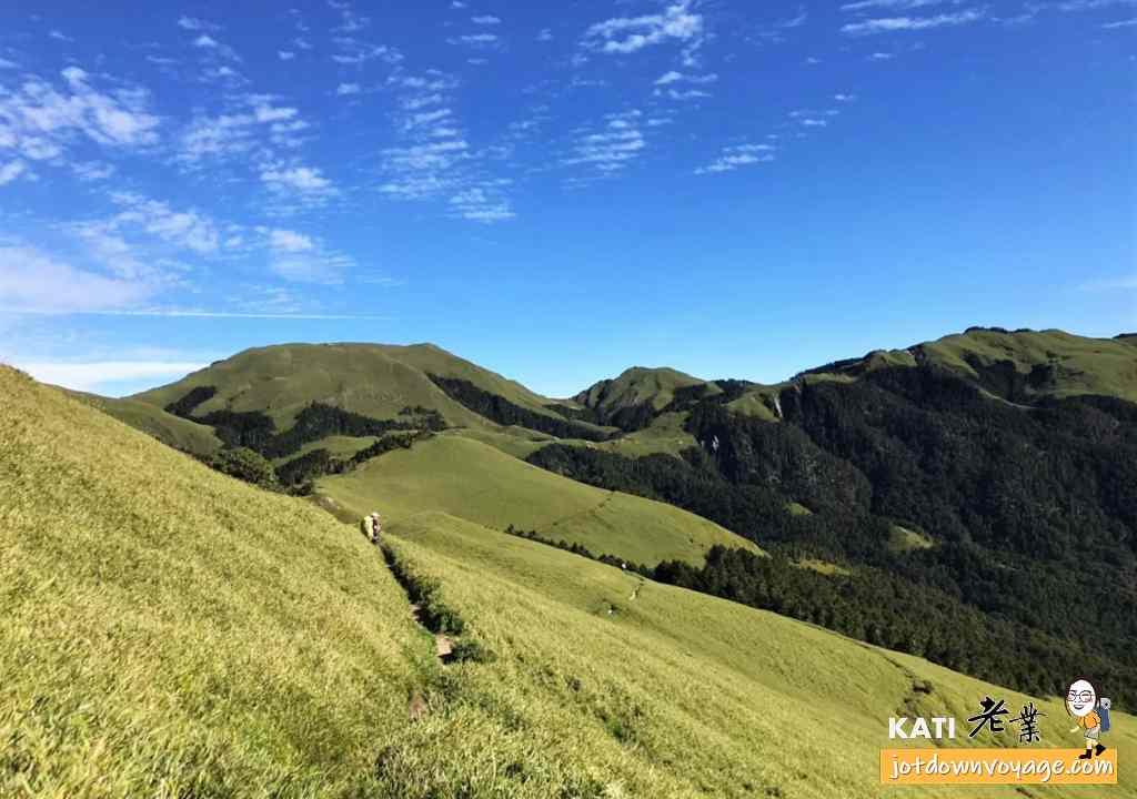 南華山展望、高山草原