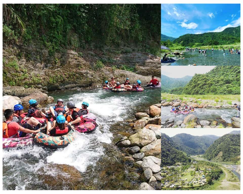 那山那谷、天然漂漂河、露營區 南澳景點推薦 