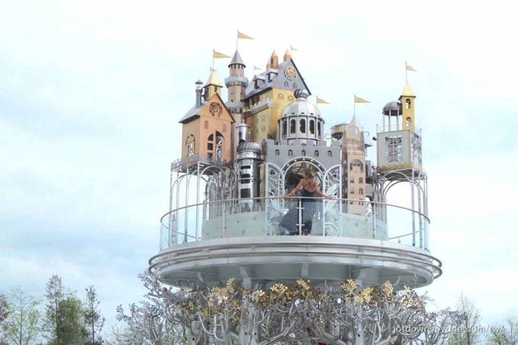 宜蘭赫蒂法莊園 空中城堡