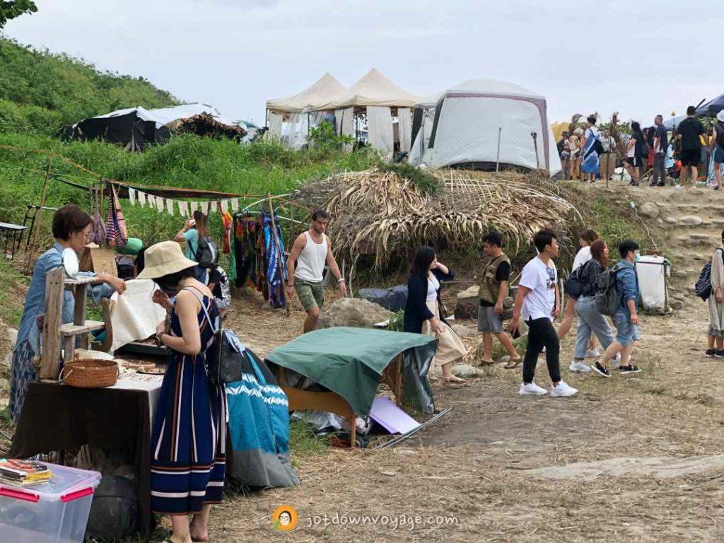 海或瘋市集 攤位(花蓮夏日限定景點)