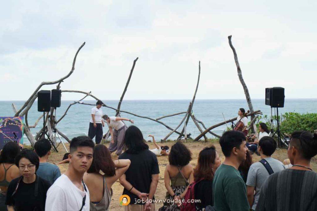 海或瘋市集 身體與音樂表演