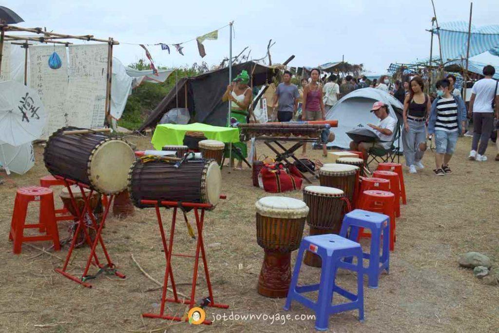 海或瘋市集 非洲鼓表演