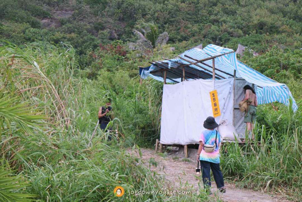 海或瘋市集 生態廁所