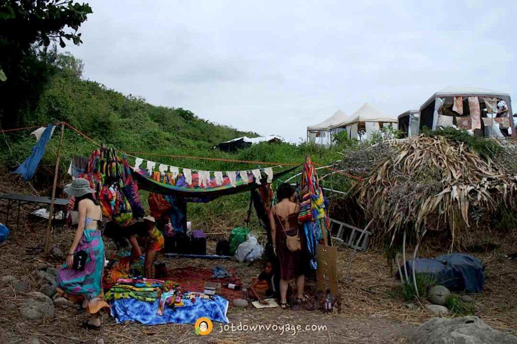 海或瘋市集 手染布攤位(花蓮夏日限定景點)
