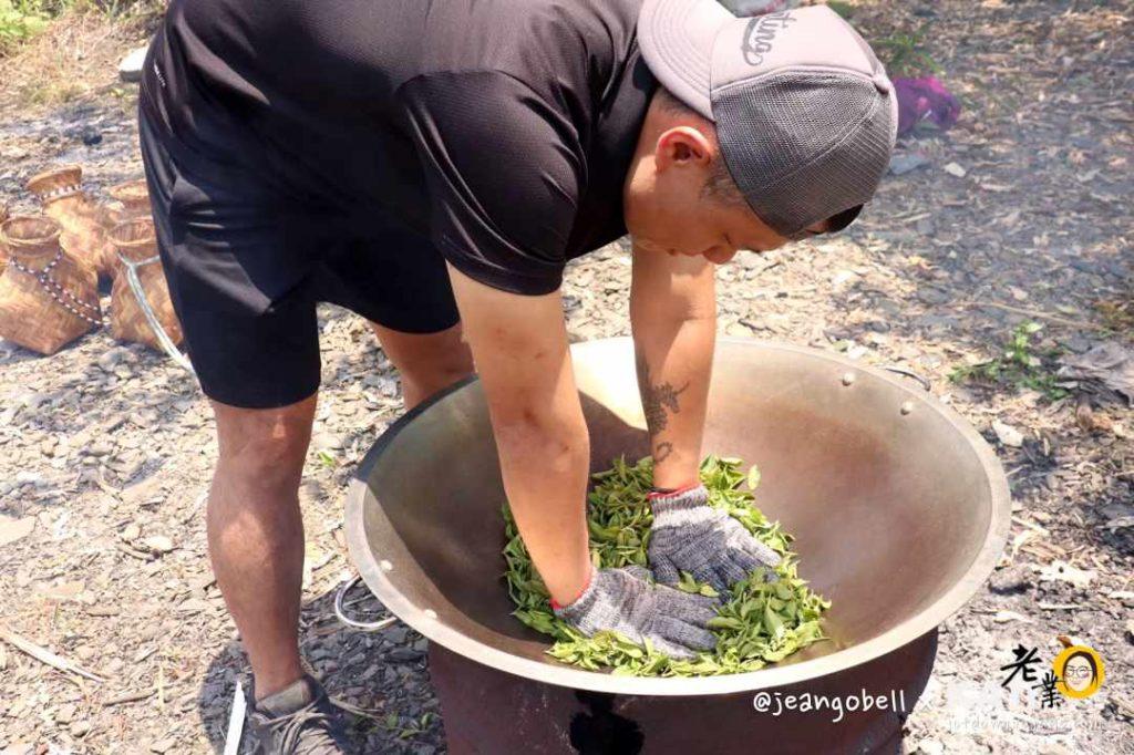 宜蘭採茶工藝參訪、手工炒茶體驗