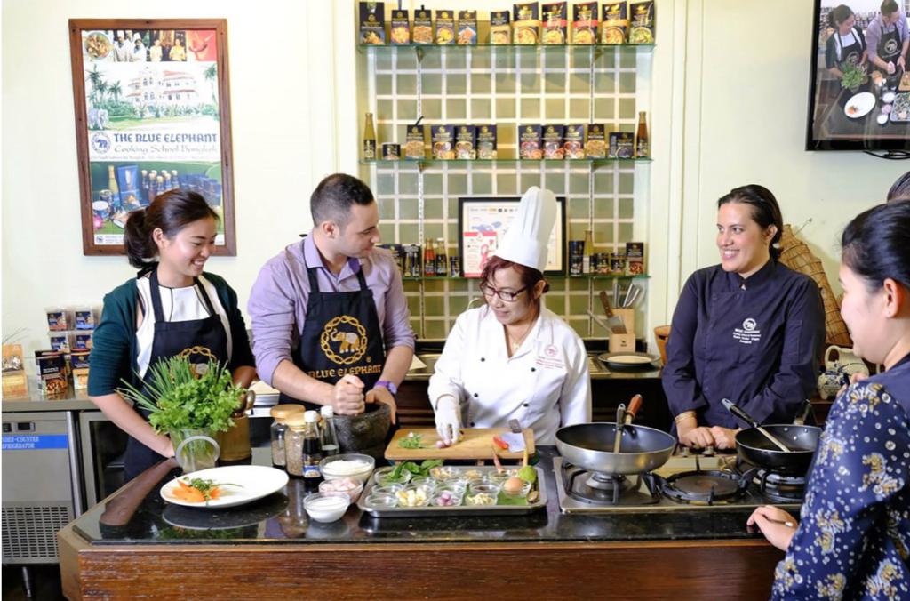 泰國曼谷藍象廚藝學校