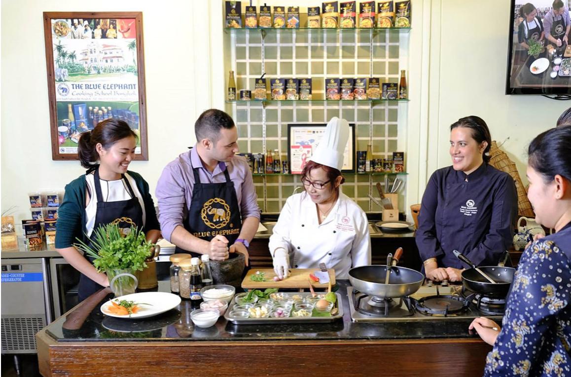 2019 曼谷自由行推薦:藍象餐廳Blue Elephant烹飪課 窺探的米其林秘密