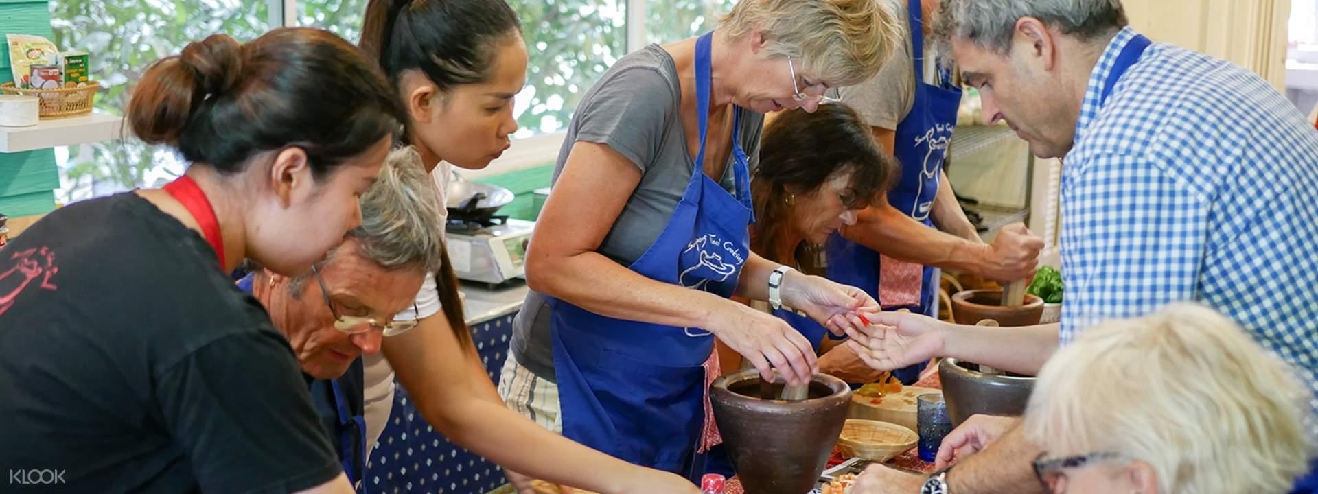2019泰國自由行推薦.絕不能錯過:Cooking Class 曼谷廚藝教室 傳統手作烹飪體驗