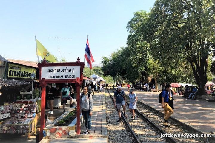 2019 泰國遊記:Kanchanaburi 北碧府一日遊、桂河大橋 River Kwai Bridge 車站、泰緬鐵路