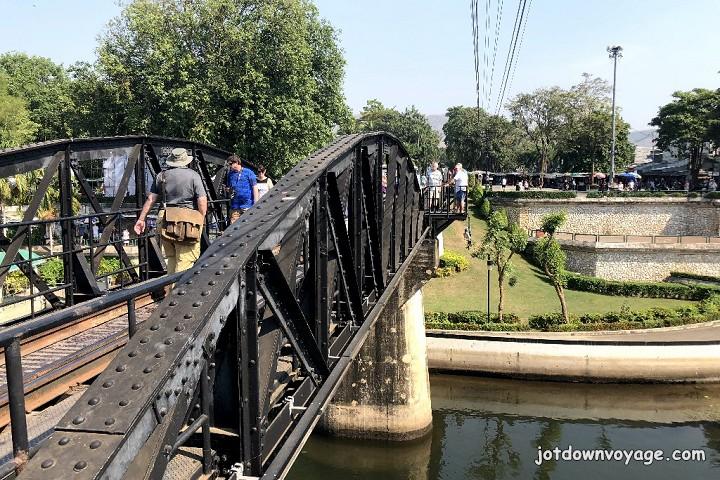 2019 泰國遊記:Kanchanaburi 北碧府一日遊、桂河大橋
