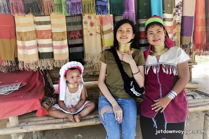 2019 泰國遊記:Kanchanaburi 北碧府一日遊、長頸族村莊