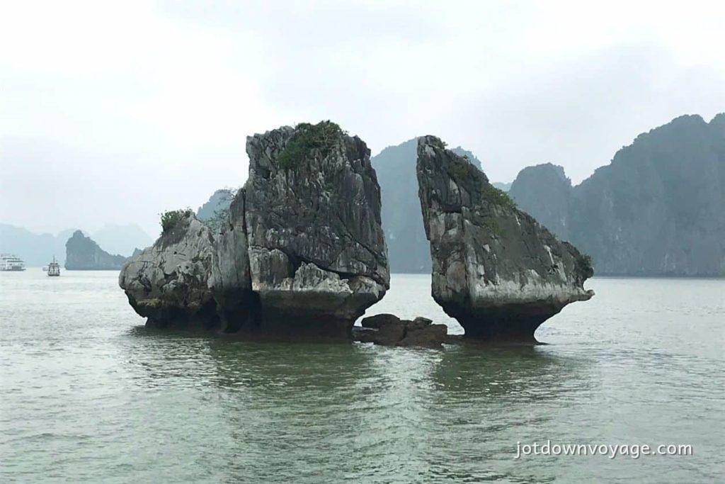下龍灣一日遊.KLOOK行程參加心得&分享|越南自由行.景點 |Halong Bay Day Tour