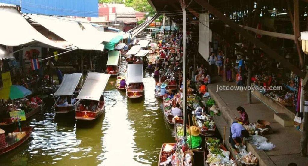 2019 泰國自由行,曼谷 24 個超人氣必去景點推薦《新手全攻略》:丹能莎朵水上市場 Damnoen Saduak