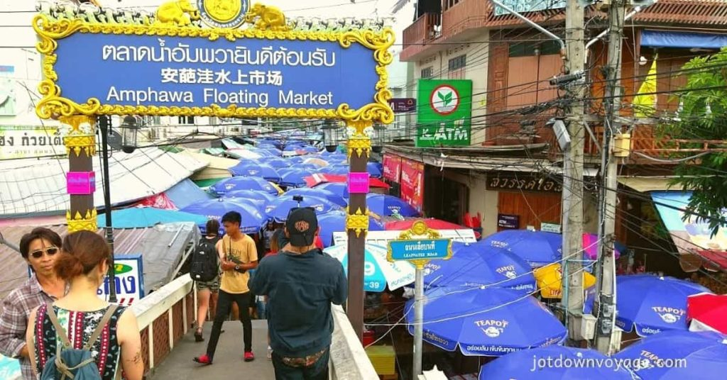 2019 泰國自由行,曼谷 24 個超人氣必去景點推薦《新手全攻略》:安帕瓦水上市場 Amphawa Floating Market