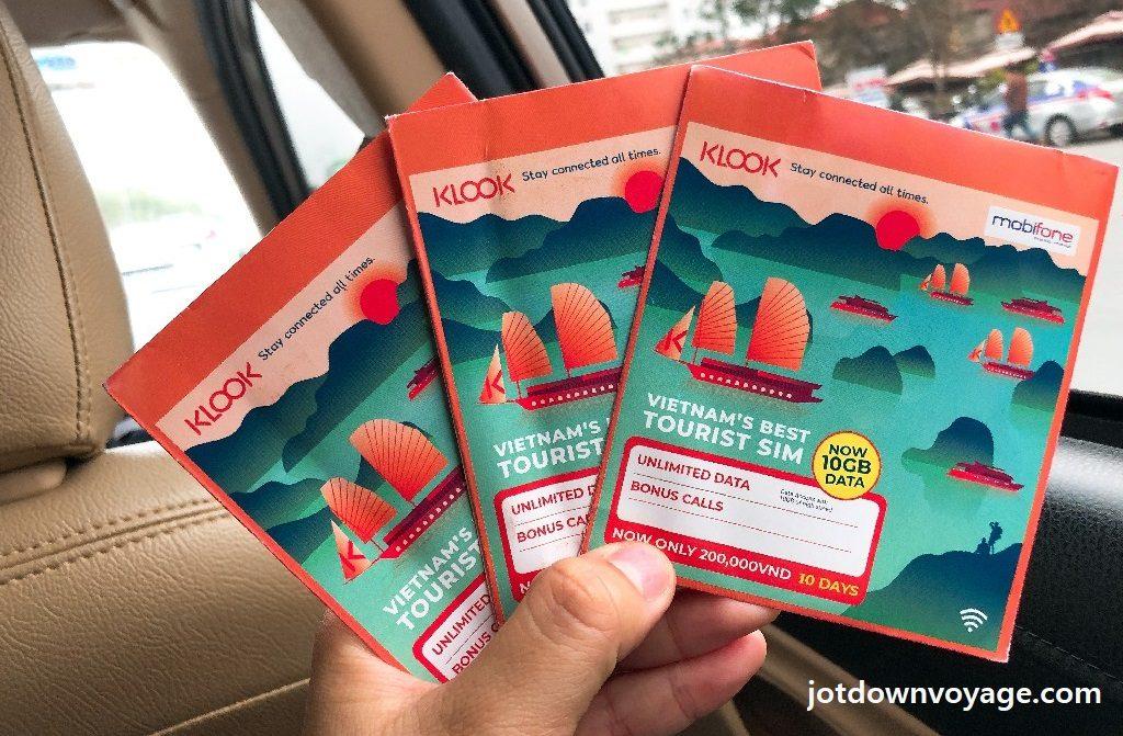 手機上網SIM卡 @2019 全攻略: 河內自由行 6天5夜(機票、簽證、景點、美食、住宿、總花費)